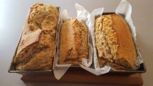 no-knead wet mix bread